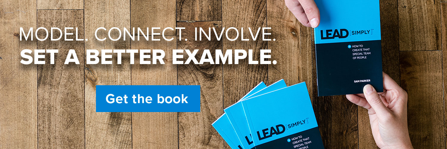Model. Connect. Involve. Get the Lead Simply book.